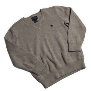 🧚♀4/$25 + $5 POLO Boy's V-Neck Sweater Sz 6
